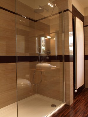 Bodengleiches duschen mit Duschtasse
